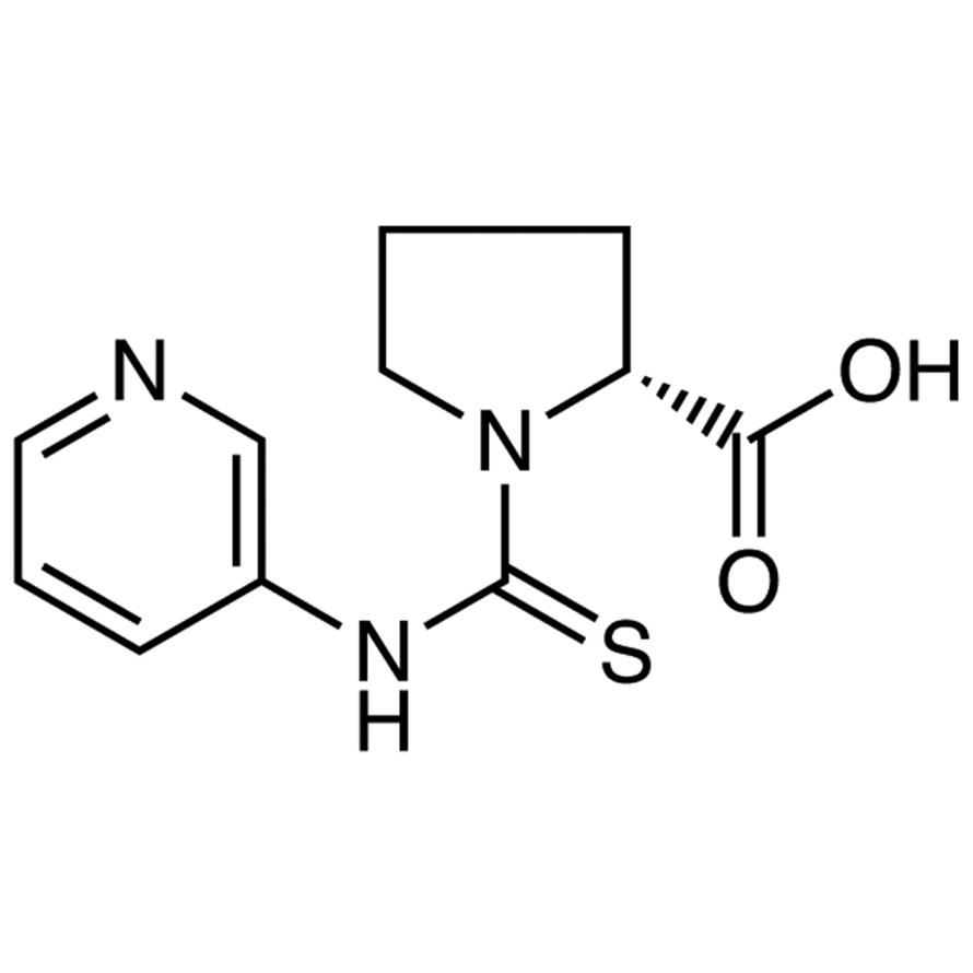 (R)-1-(3-Pyridylthiocarbamoyl)pyrrolidine-2-carboxylic Acid