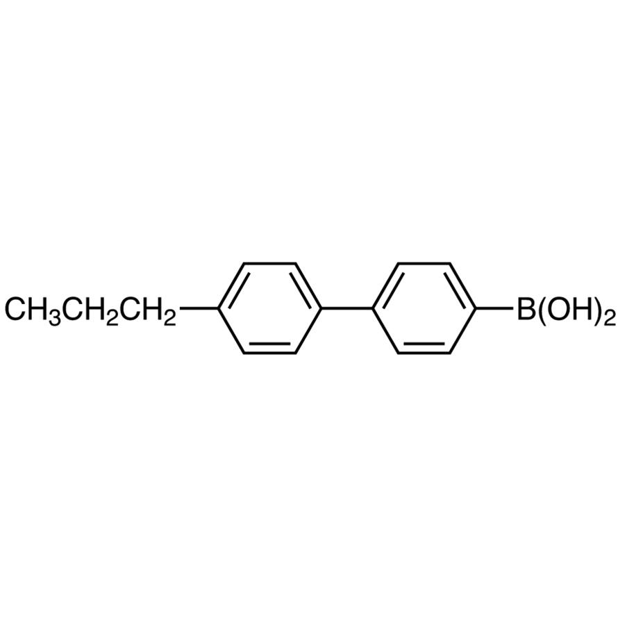 4'-Propyl-4-biphenylboronic Acid (contains varying amounts of Anhydride)