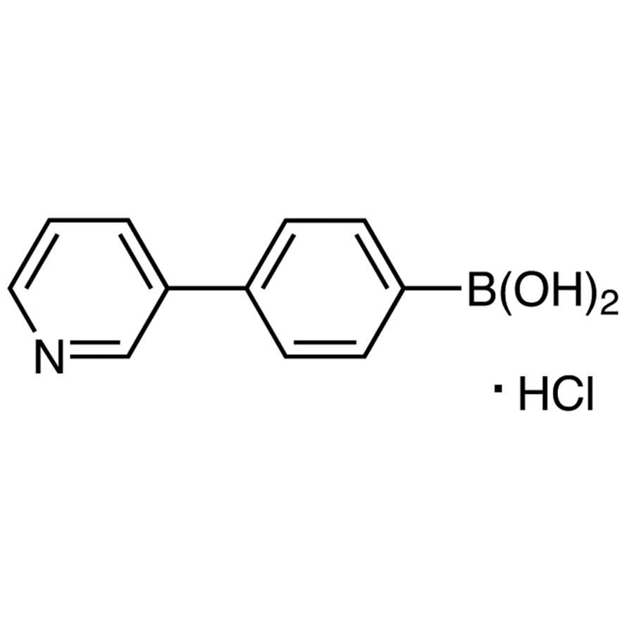 4-(3-Pyridyl)phenylboronic Acid Hydrochloride (contains varying amounts of Anhydride)