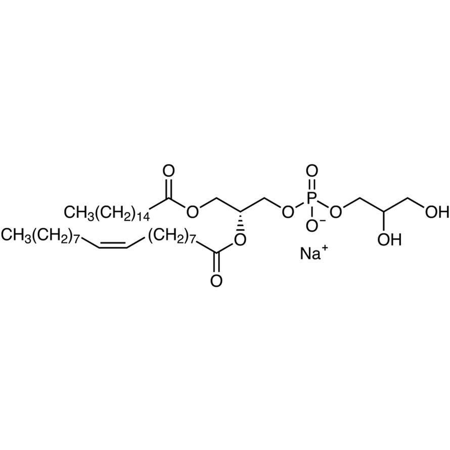 1-Palmitoyl-2-oleyl-sn-glycero-3-phospho-rac-(1-glycerol) Sodium Salt