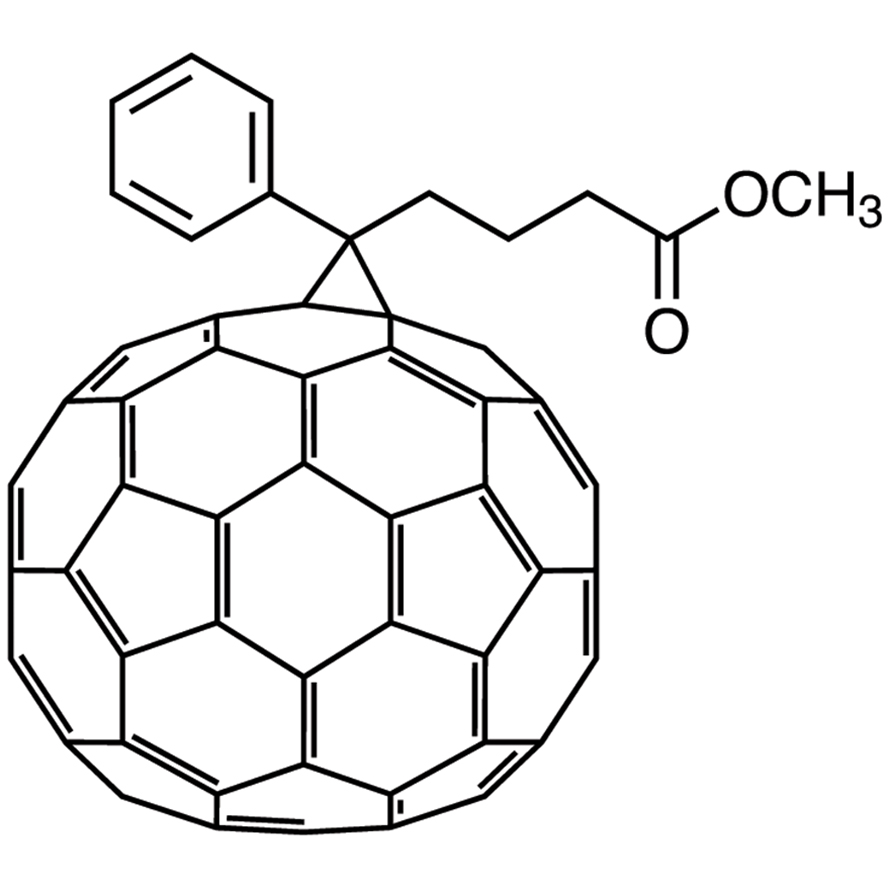 [6,6]-Phenyl-C71-butyric Acid Methyl Ester (mixture of isomers) [for organic electronics]