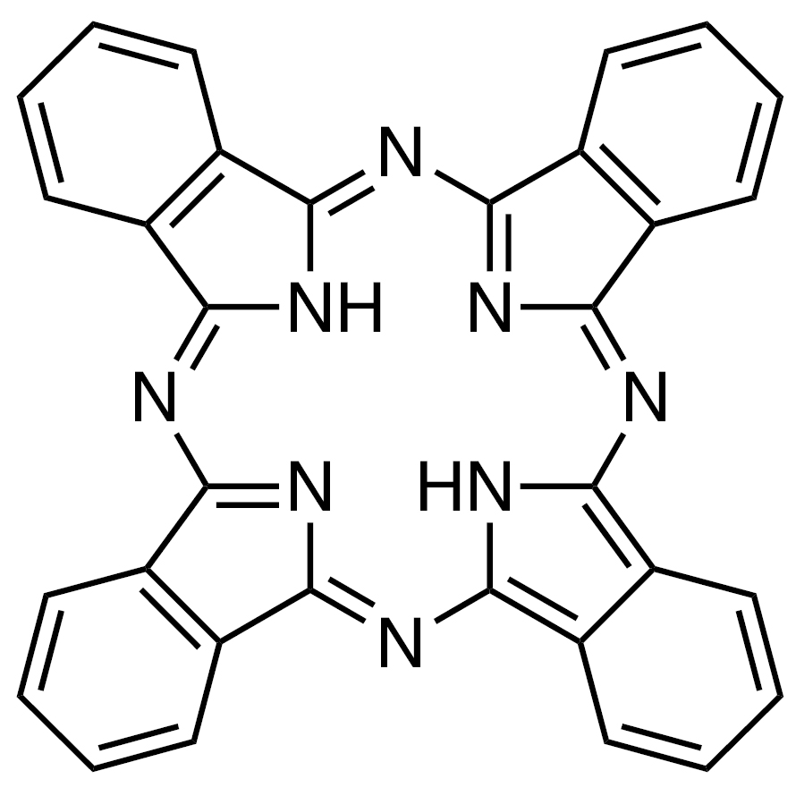 Phthalocyanine (purified by sublimation) [for organic electronics]