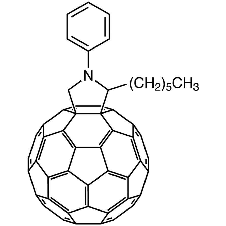 N-Phenyl-2-hexyl[60]fulleropyrrolidine