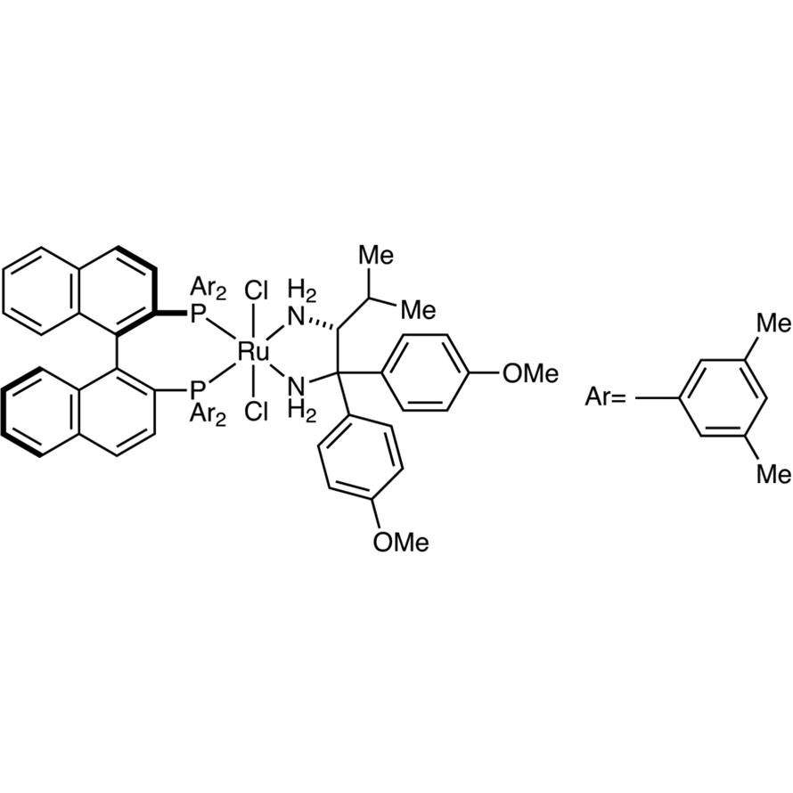 RuCl2[(R)-xylbinap][(R)-daipen]