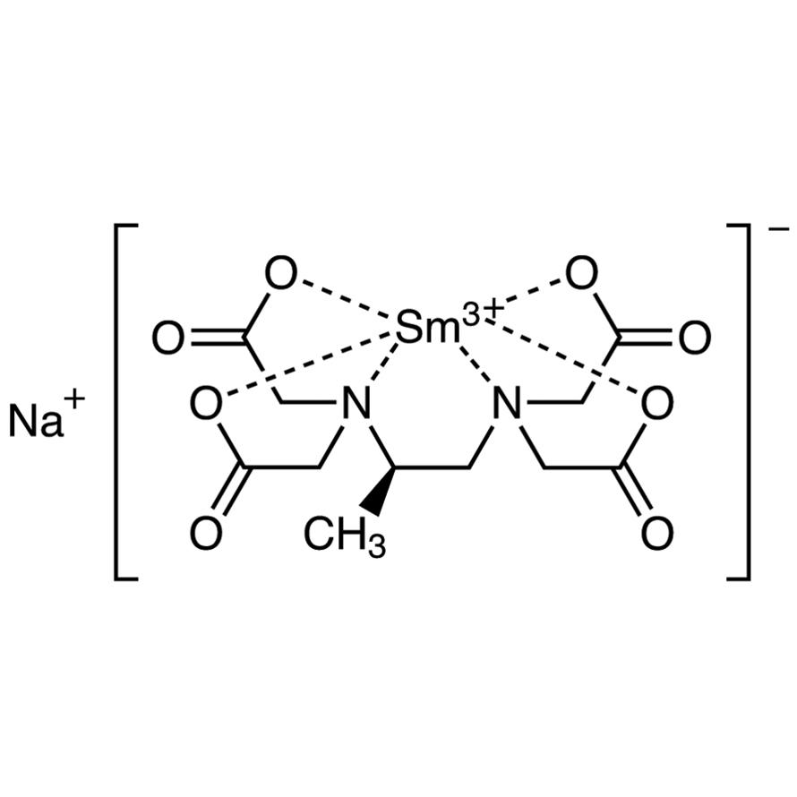 Sodium [(R)-1,2-Diaminopropane-N,N,N',N'-tetraacetato]samarate(III)