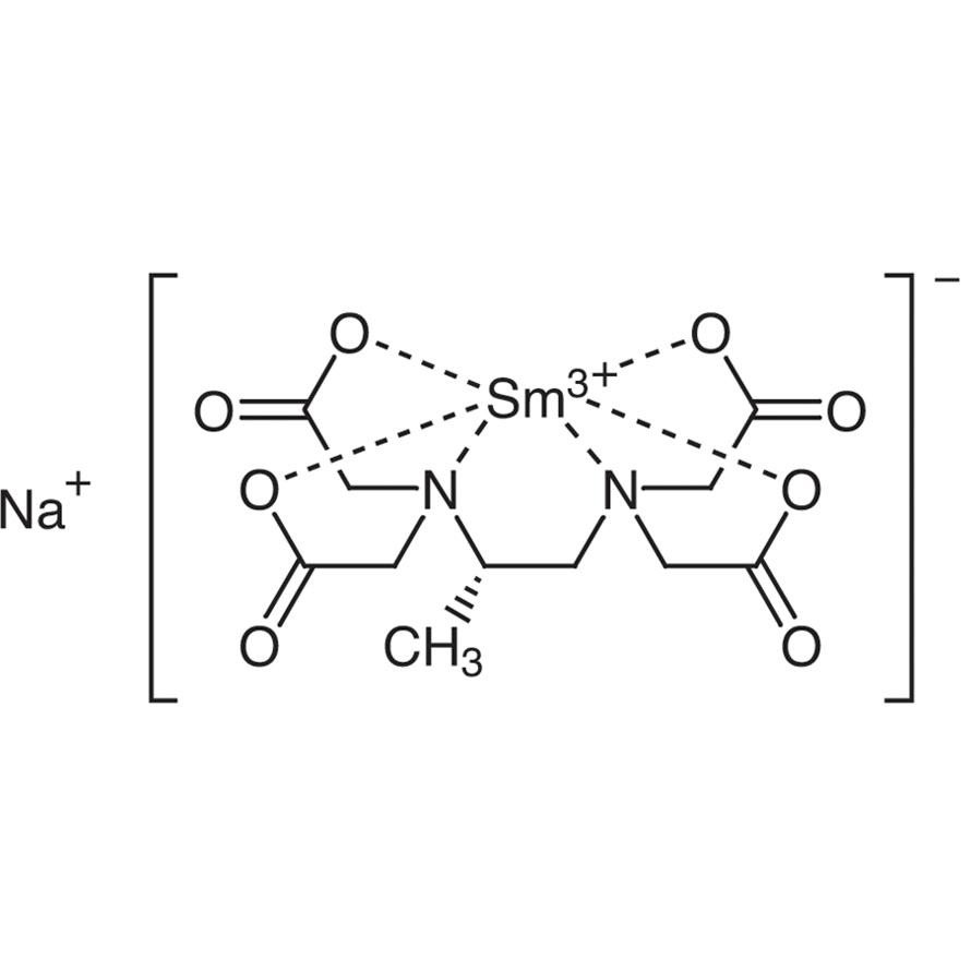 Sodium [(S)-1,2-Diaminopropane-N,N,N',N'-tetraacetato]samarate(III)