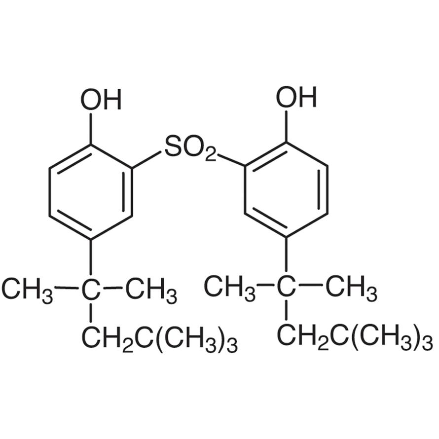 2,2'-Sulfonylbis(4-tert-octylphenol)