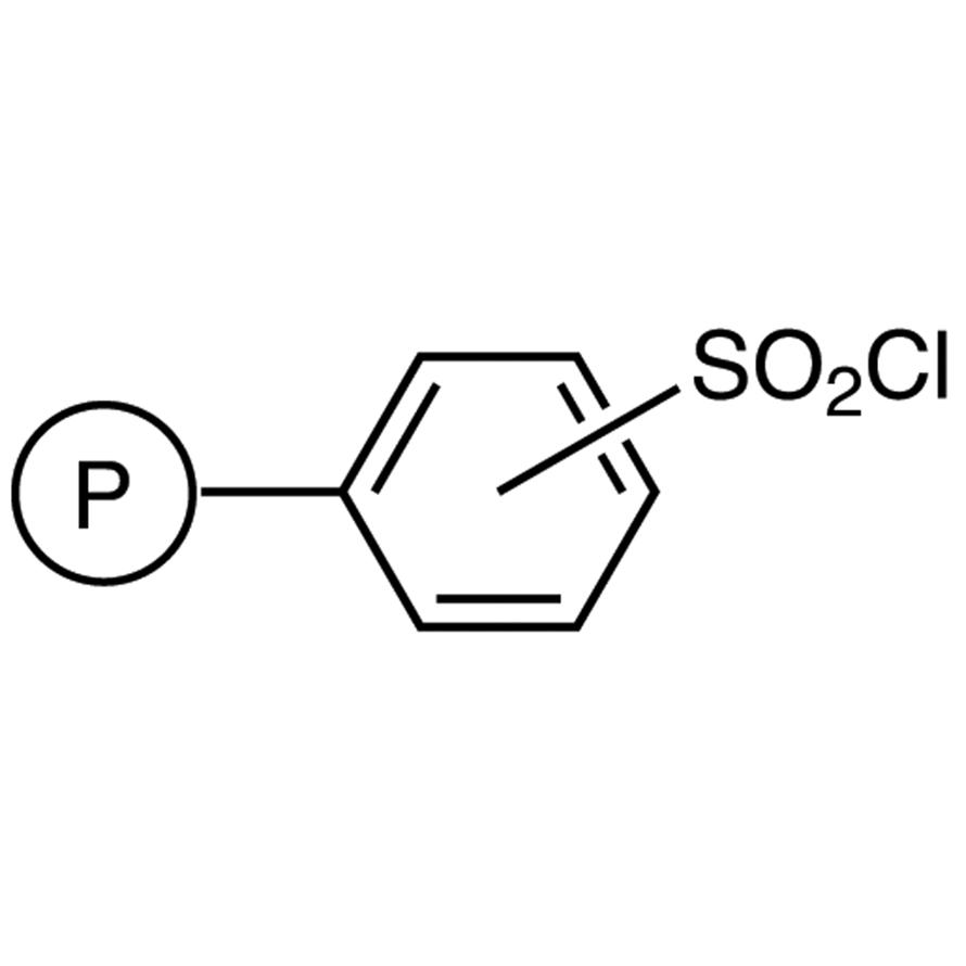 Sulfonyl Chloride Polystyrene Resin cross-linked with 1% DVB (50-100mesh) (4.5-5.3mmol/g)
