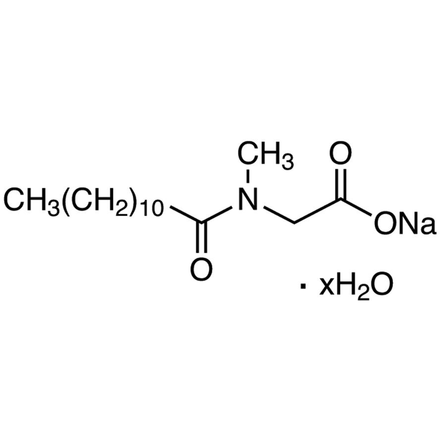 Sodium N-Lauroylsarcosinate Hydrate [for Biochemical Research]