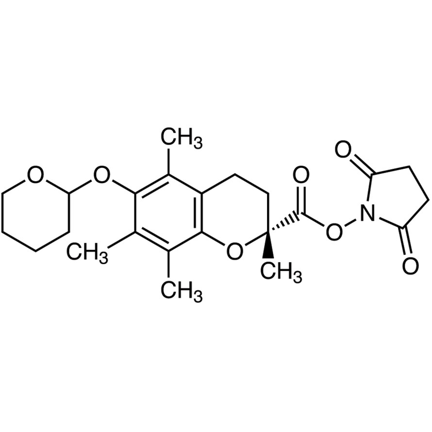 Succinimidyl (2R)-6-(Tetrahydro-2H-pyran-2-yloxy)-2,5,7,8-tetramethylchroman-2-carboxylate