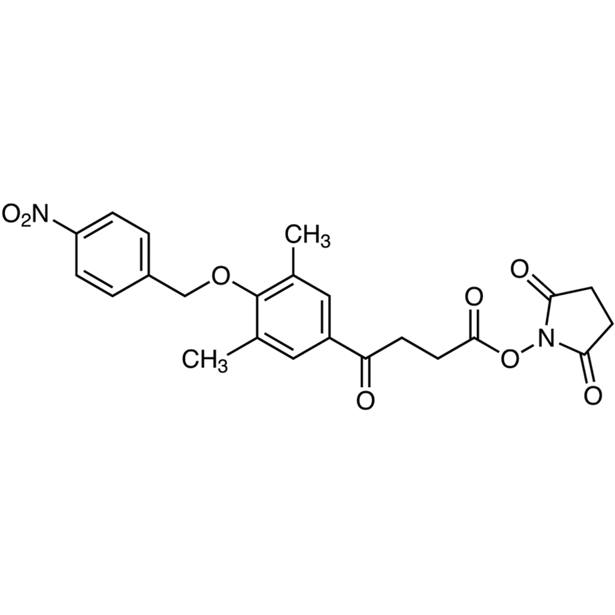Succinimidyl 4-[3,5-Dimethyl-4-(4-nitrobenzyloxy)phenyl]-4-oxobutyrate