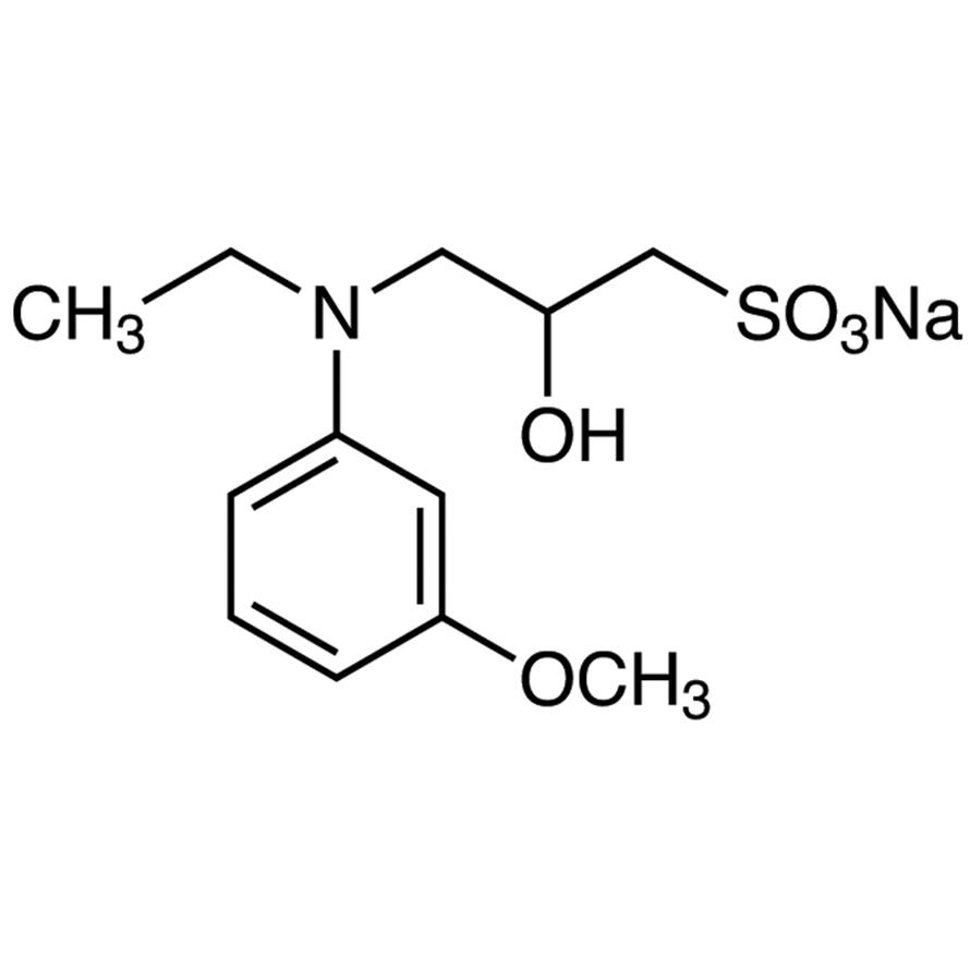 Sodium 3-(N-Ethyl-3-methoxyanilino)-2-hydroxy-1-propanesulfonate [for Biochemical Research]