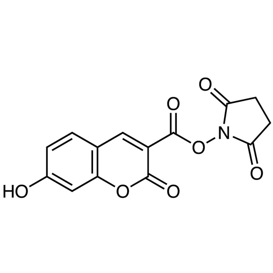 N-Succinimidyl 7-Hydroxycoumarin-3-carboxylate