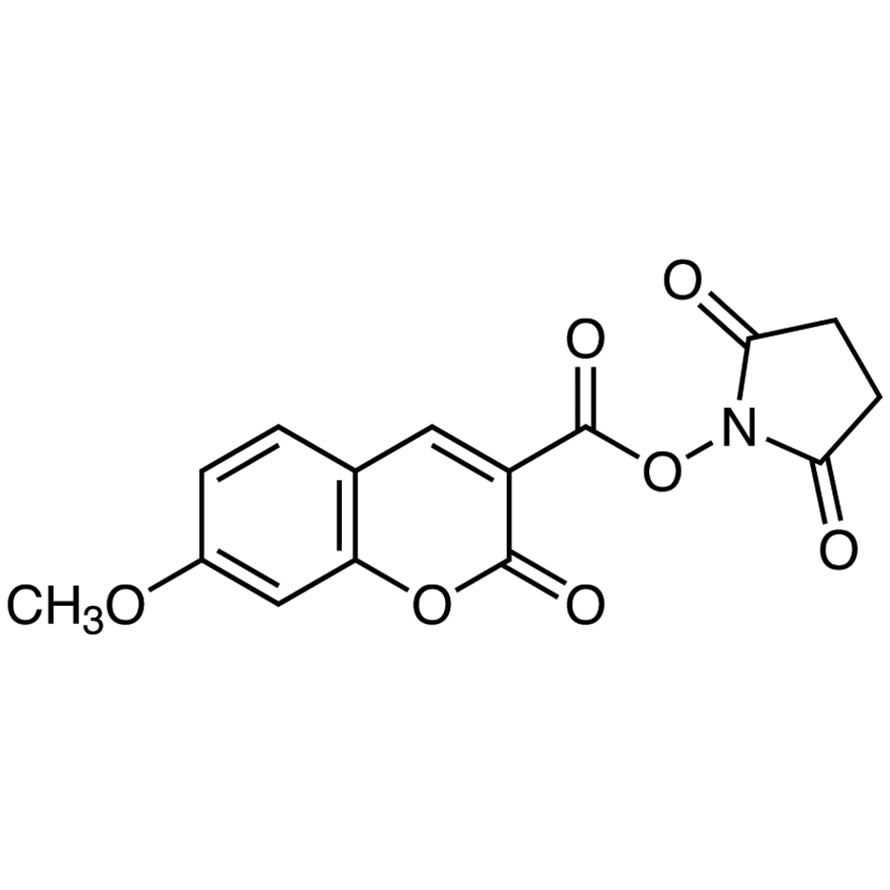 N-Succinimidyl 7-Methoxycoumarin-3-carboxylate