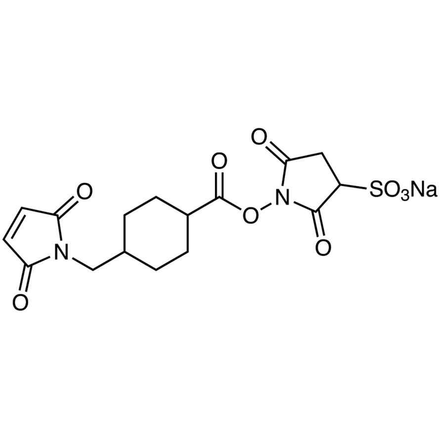 3-Sulfo-N-succinimidyl 4-(N-Maleimidomethyl)cyclohexane-1-carboxylate Sodium Salt
