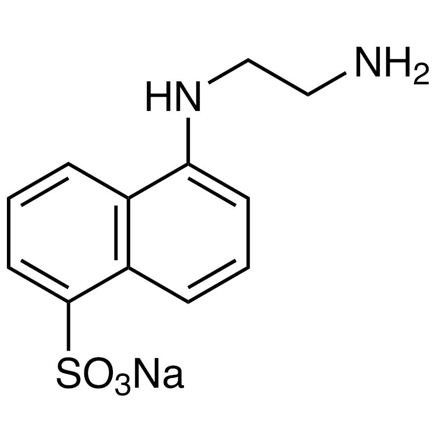Sodium 5-(2-Aminoethylamino)-1-naphthalenesulfonate Hydrate