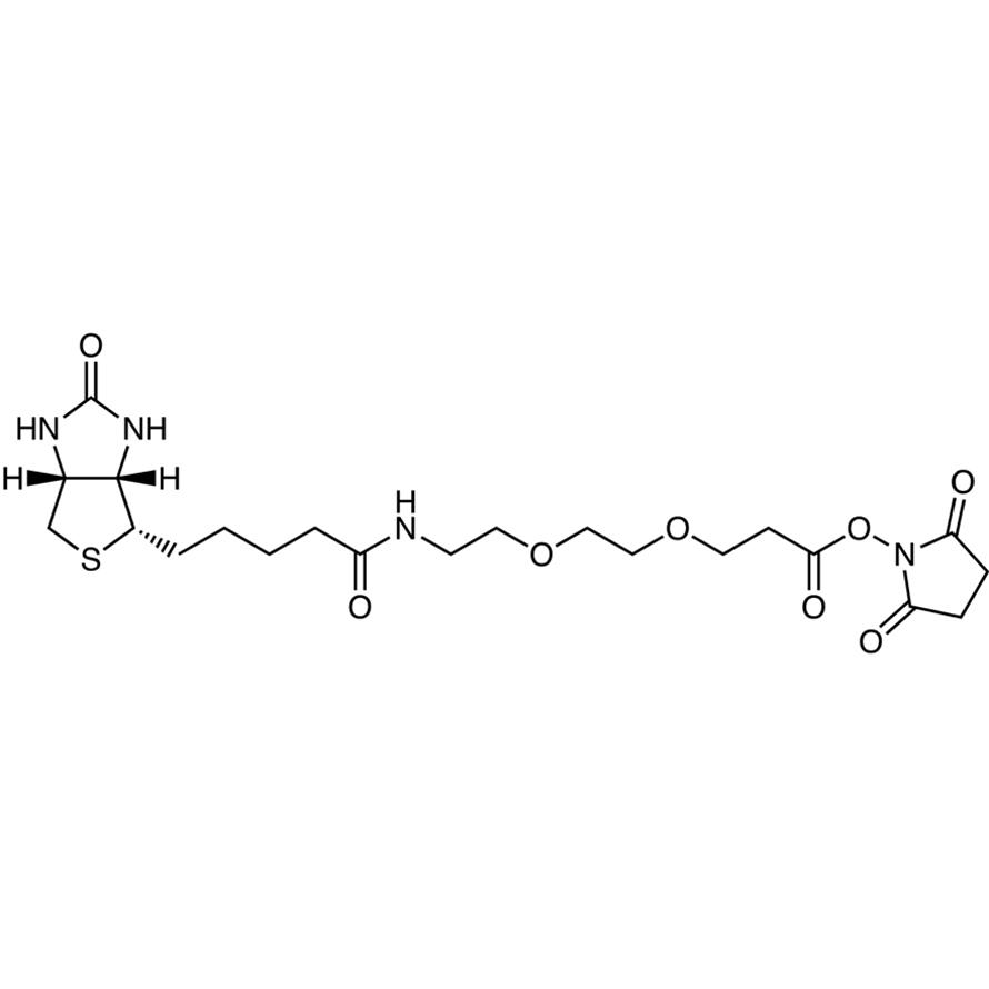 N-Succinimidyl 9-(Biotinamido)-4,7-dioxanonanoate