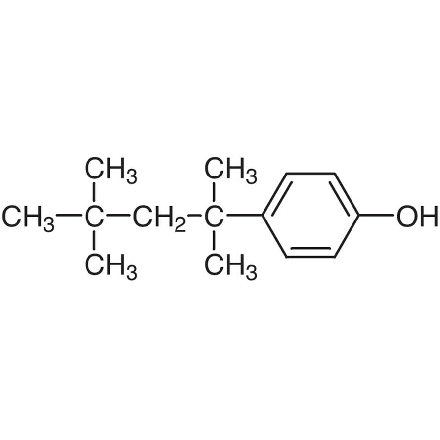 4-(1,1,3,3-Tetramethylbutyl)phenol