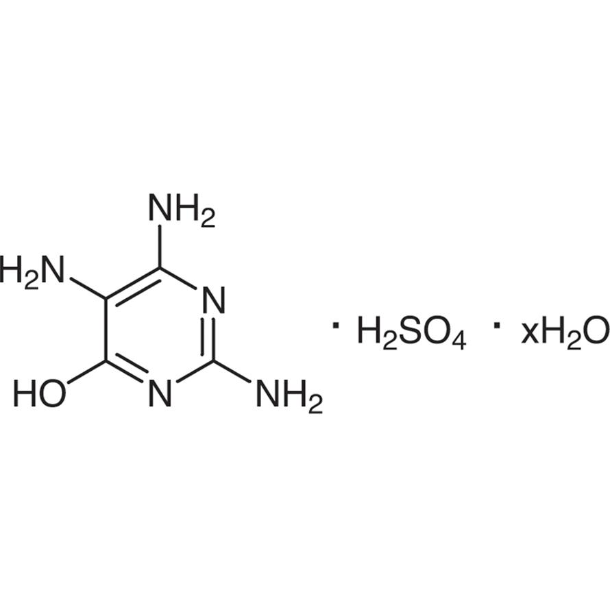 2,4,5-Triamino-6-hydroxypyrimidine Sulfate Hydrate