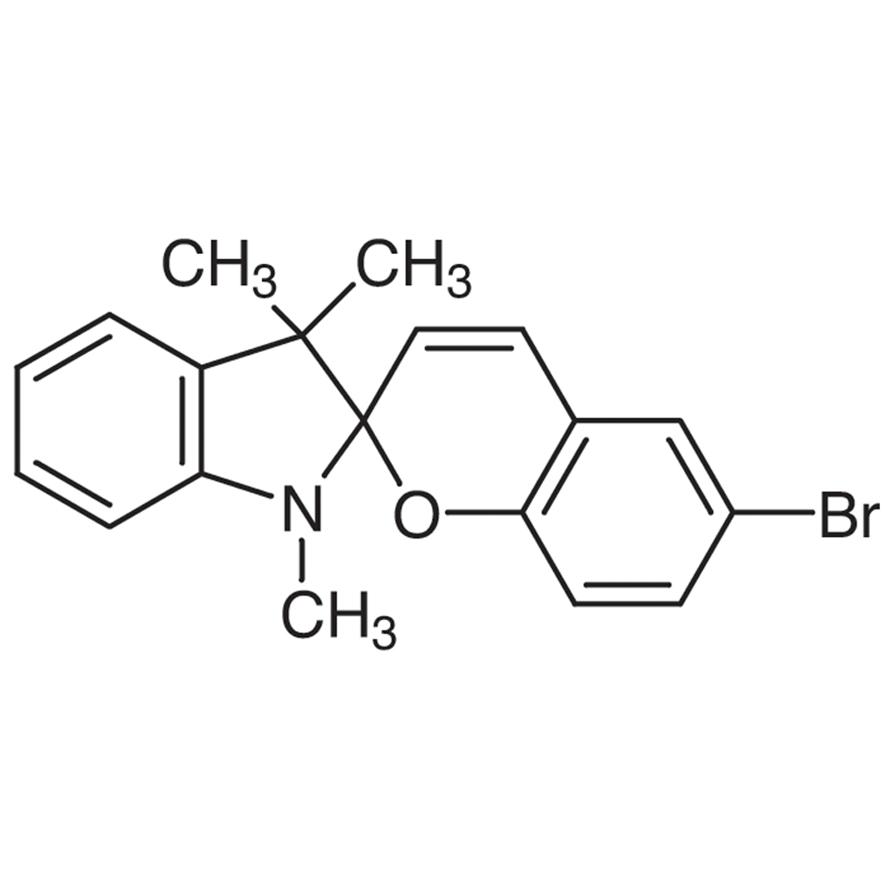 1,3,3-Trimethylindolino-6'-bromobenzopyrylospiran