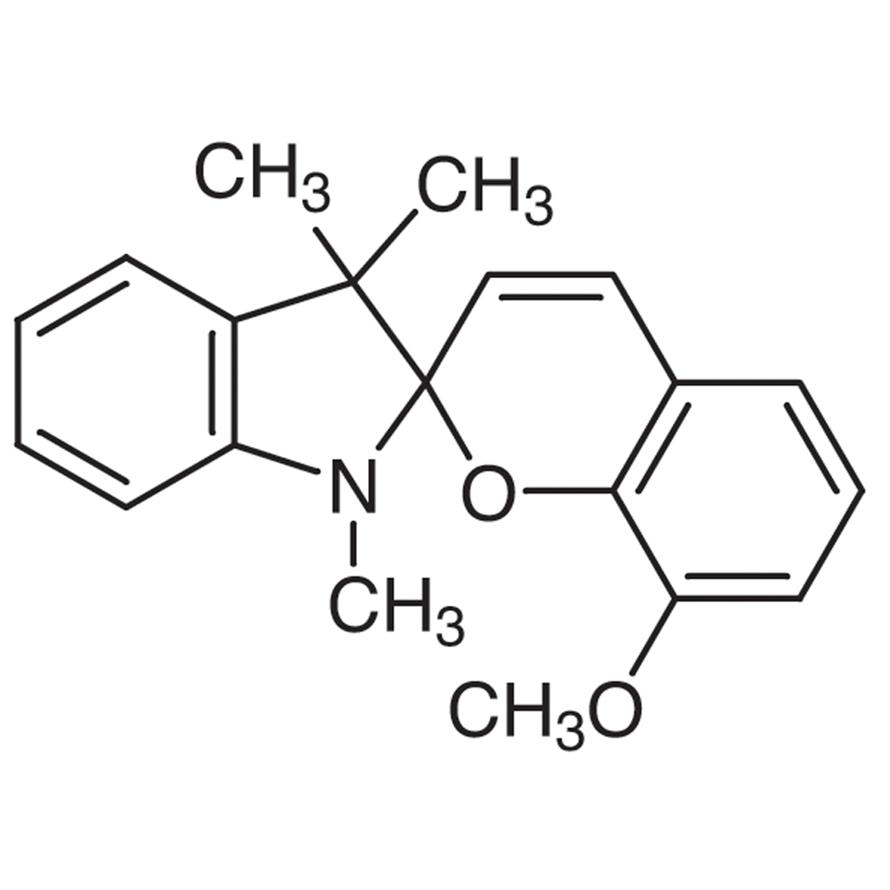 1,3,3-Trimethylindolino-8'-methoxybenzopyrylospiran