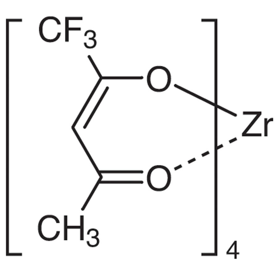 Tetrakis(trifluoro-2,4-pentanedionato)zirconium(IV)