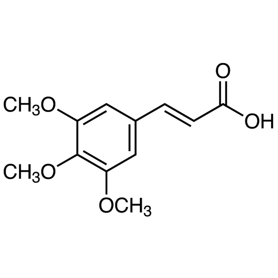 (E)-3,4,5-Trimethoxycinnamic Acid