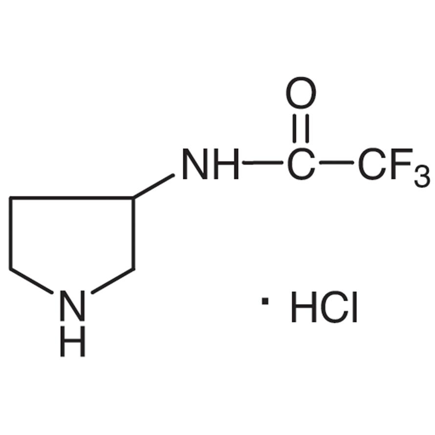 3-(Trifluoroacetamido)pyrrolidine Hydrochloride
