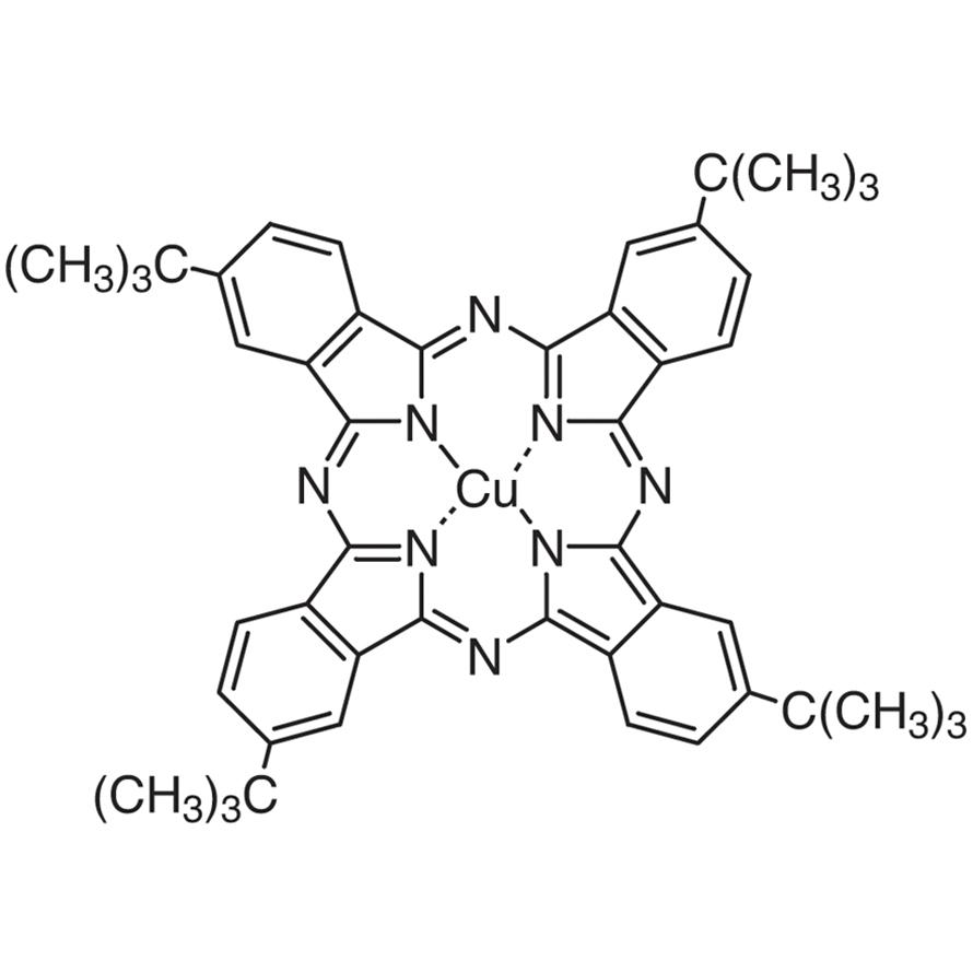 Copper(II) 2,9,16,23-Tetra-tert-butylphthalocyanine