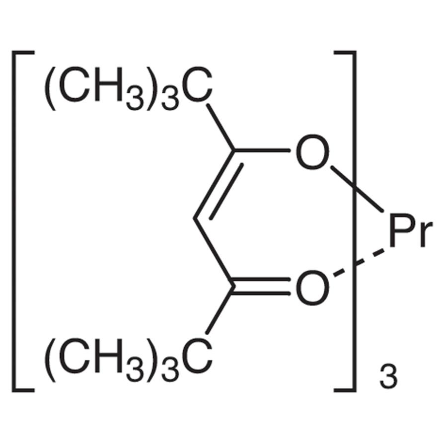 Tris(2,2,6,6-tetramethyl-3,5-heptanedionato)praseodymium(III) [NMR Shift Reagent]