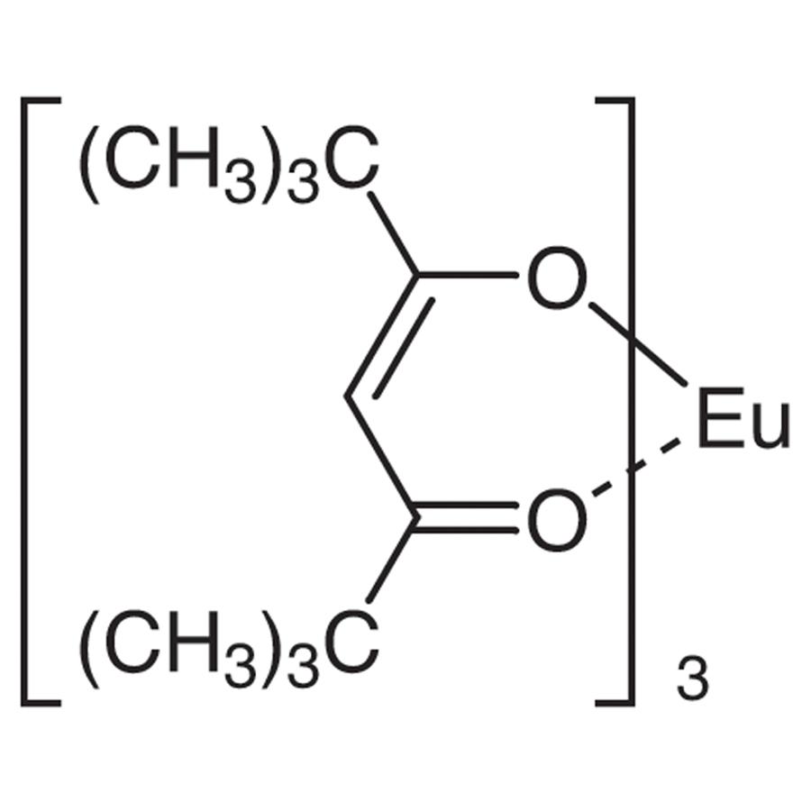 Tris(2,2,6,6-tetramethyl-3,5-heptanedionato)europium(III) [NMR Shift Reagent]