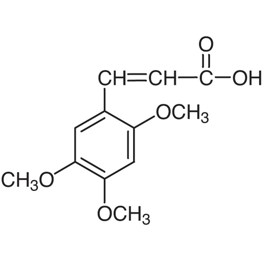 2,4,5-Trimethoxycinnamic Acid
