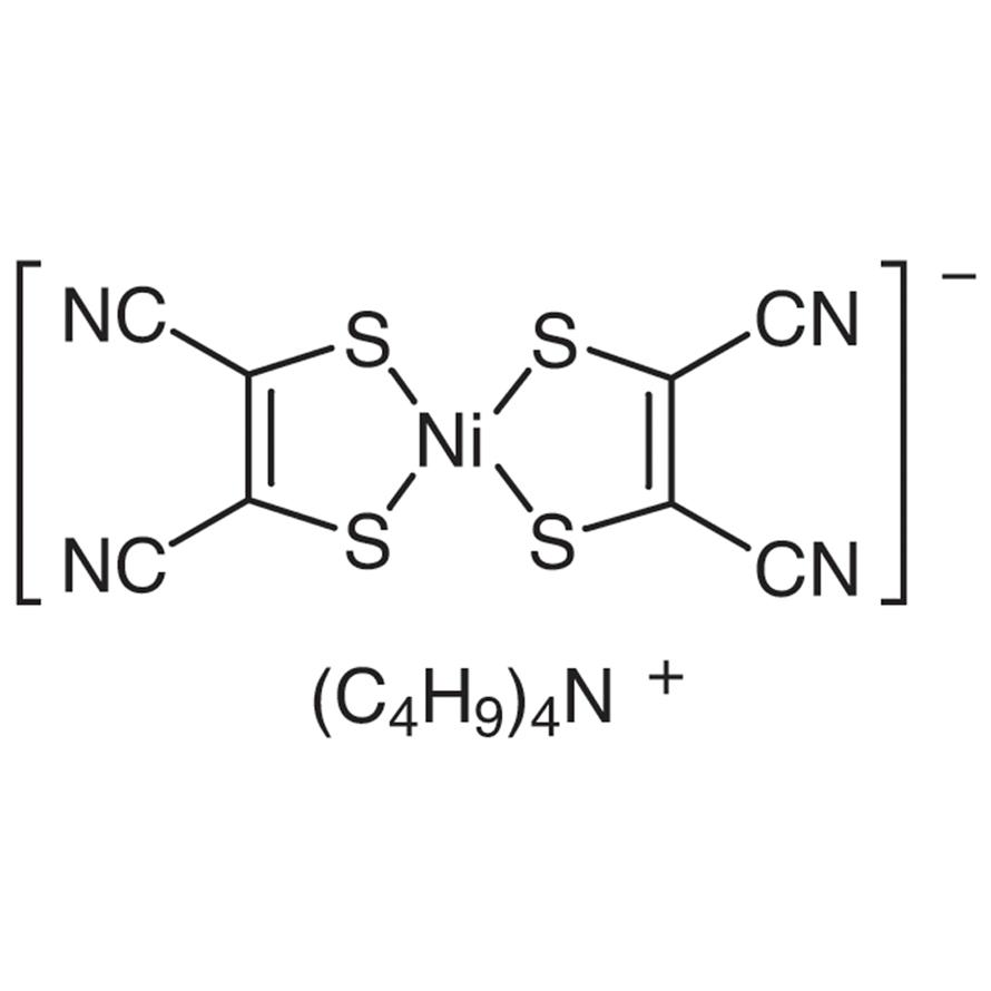 Tetrabutylammonium Bis(maleonitriledithiolato)nickel(III) Complex
