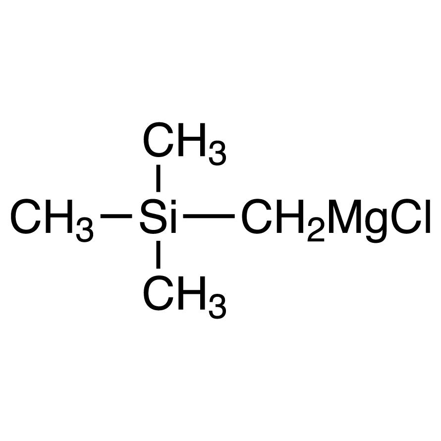 Trimethylsilylmethylmagnesium Chloride (20% in Ethyl Ether, ca. 1mol/L)