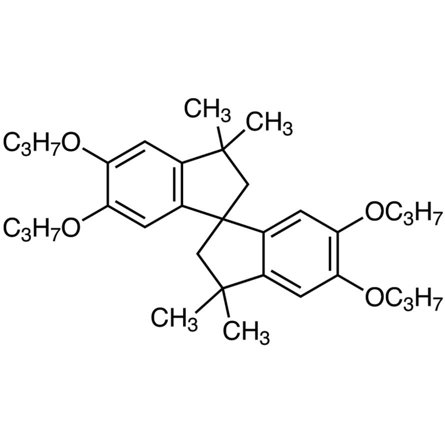 3,3,3',3'-Tetramethyl-5,5',6,6'-tetrapropoxy-1,1'-spirobiindane