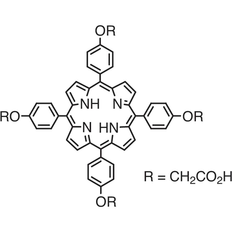 5,10,15,20-Tetrakis(4-carboxymethyloxyphenyl)porphyrin