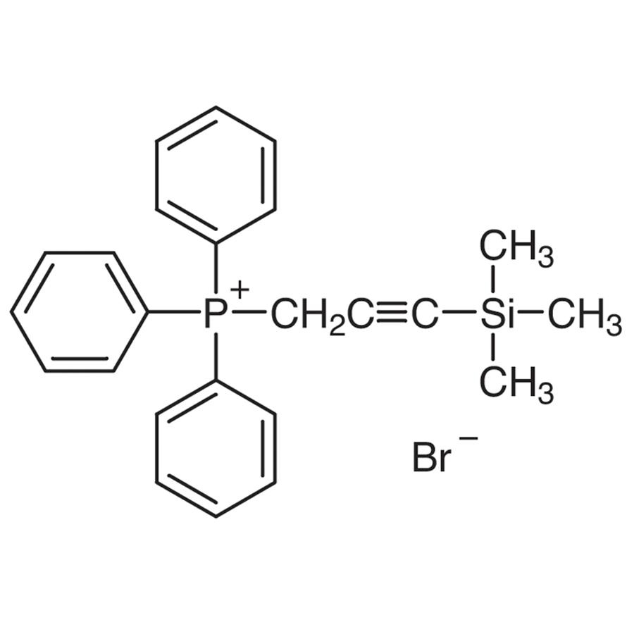 (3-Trimethylsilyl-2-propynyl)triphenylphosphonium Bromide