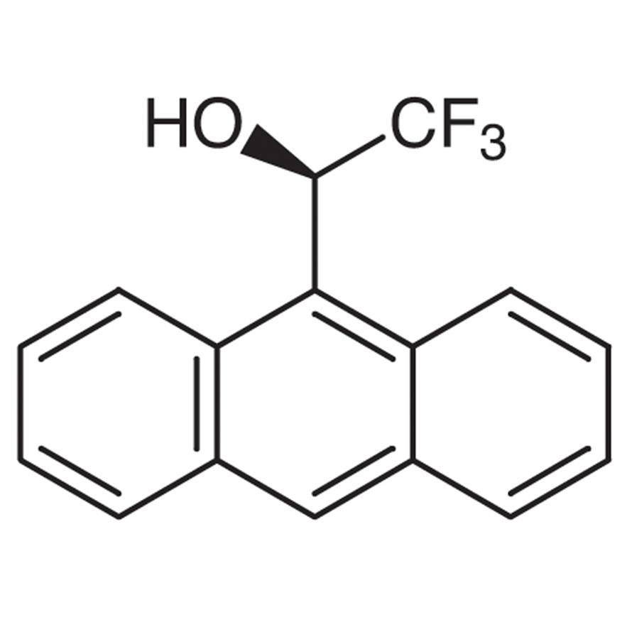 (R)-(-)-2,2,2-Trifluoro-1-(9-anthryl)ethanol [e.e. Determination Reagent by NMR]