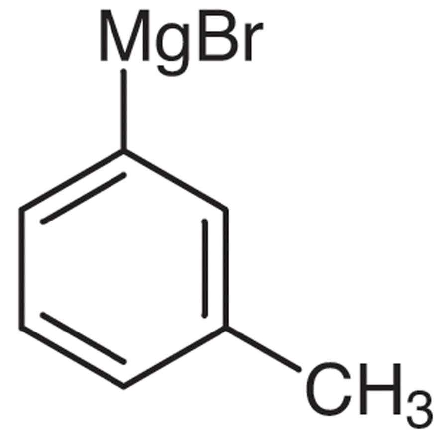 m-Tolylmagnesium Bromide (19% in Tetrahydrofuran, ca. 1mol/L)