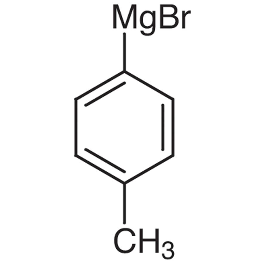p-Tolylmagnesium Bromide (19% in Tetrahydrofuran, ca. 1mol/L)