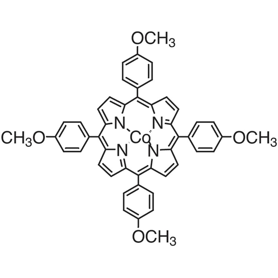 [5,10,15,20-Tetrakis(4-methoxyphenyl)porphyrinato]cobalt(II)