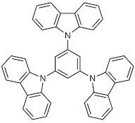 1,3,5-Tri(9H-carbazol-9-yl)benzene (purified by sublimation)