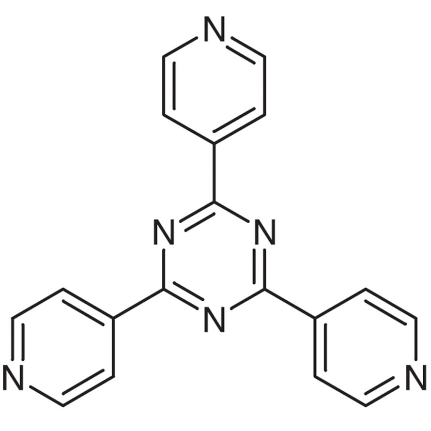 2,4,6-Tri(4-pyridyl)-1,3,5-triazine (purified by sublimation)