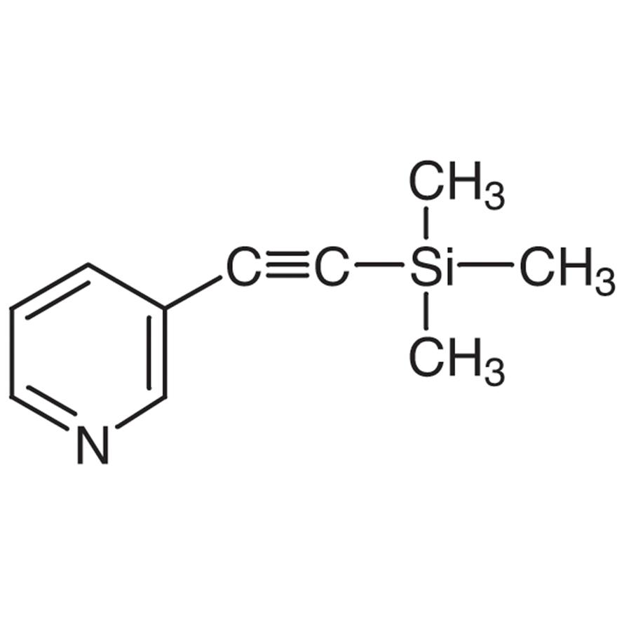 3-(Trimethylsilylethynyl)pyridine