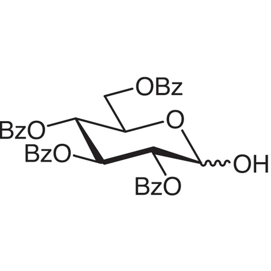 2,3,4,6-Tetra-O-benzoyl-D-glucopyranose