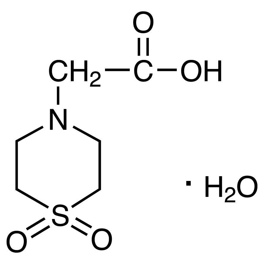 Thiomorpholinoacetic Acid 1',1'-Dioxide Monohydrate