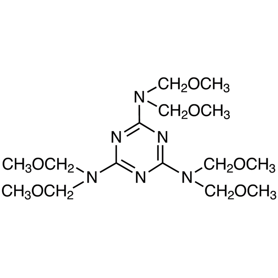 2,4,6-Tris[bis(methoxymethyl)amino]-1,3,5-triazine