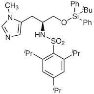 N-(2,4,6-Triisopropylbenzenesulfonyl)-O-(tert-butyldiphenylsilyl)--methyl-L-histidinol