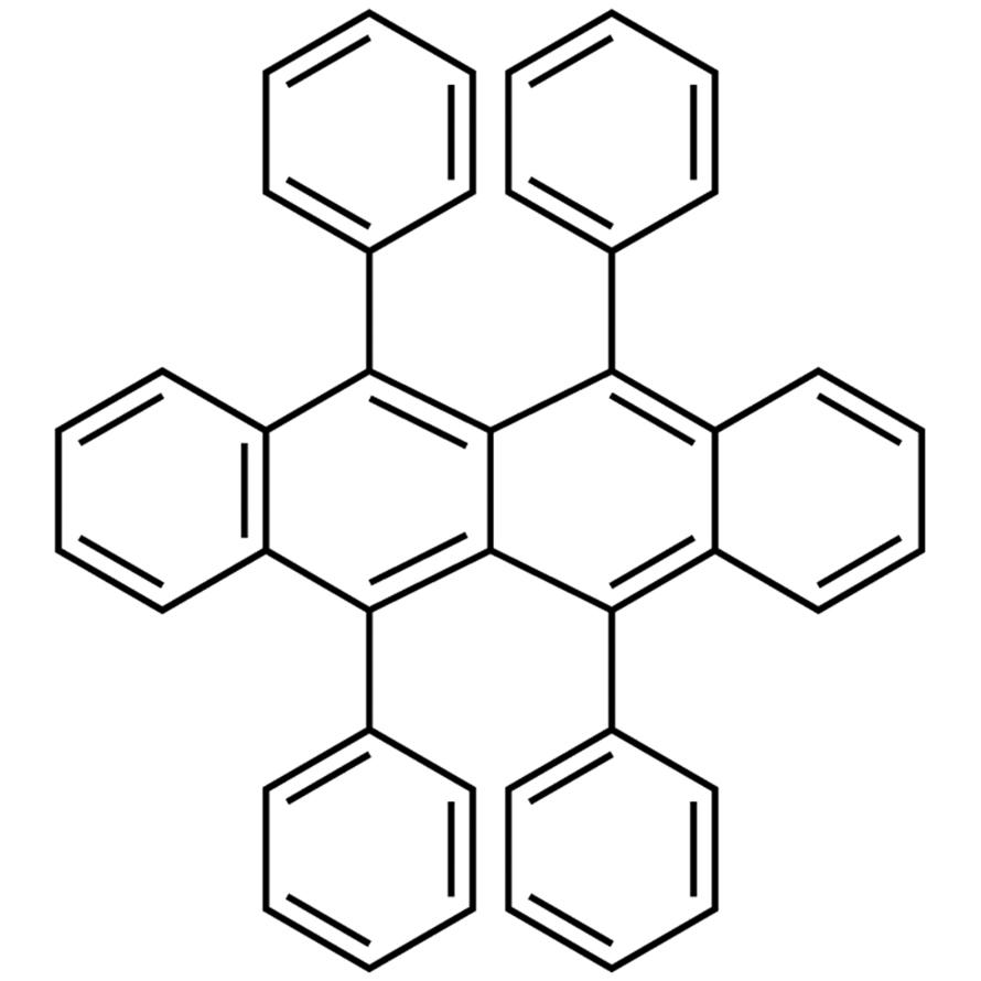 5,6,11,12-Tetraphenylnaphthacene (purified by sublimation)