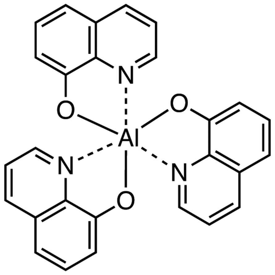 Tris(8-quinolinolato)aluminum (purified by sublimation)